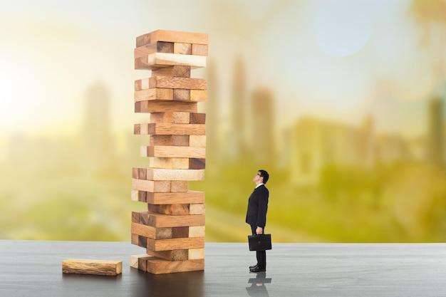 Risikomanagement-geschäftsplanung für anlagespiel.