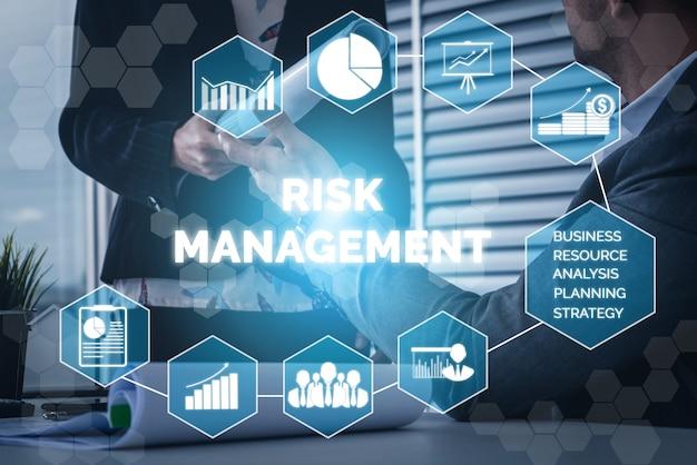 Risikomanagement und bewertung für das geschäftsinvestitionskonzept