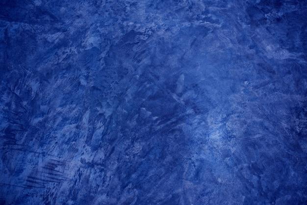 Risswandhintergrund des blauen mörtelhintergrundtextur