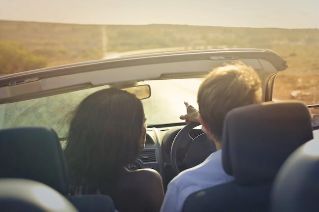 Roadtrip mit einem cabriolet