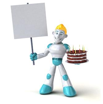 Roboter - 3d-charakter