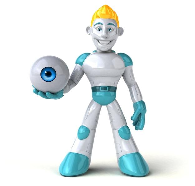 Roboter - 3d-illustration