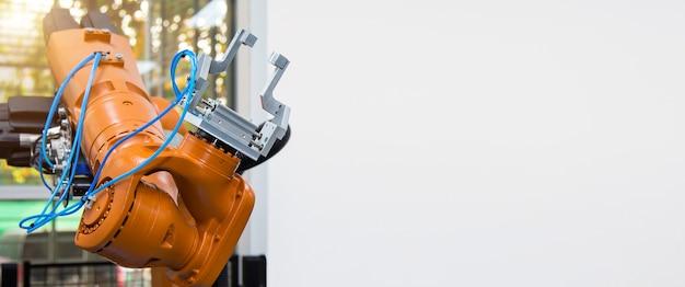 Roboterarm-automatisierungshandhabungssystem für die industrielle fertigung.