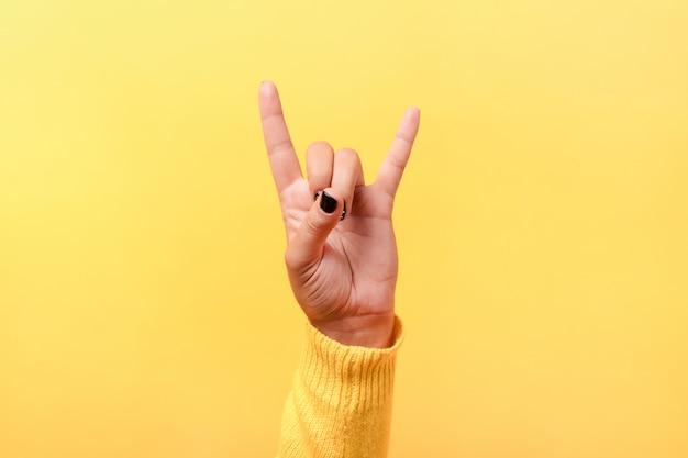 Rock'n'roll-zeichen