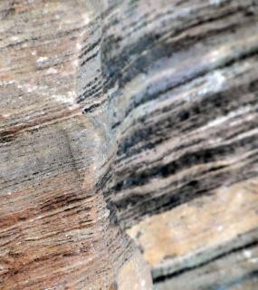 Rocken geschwungene linien hintergrund