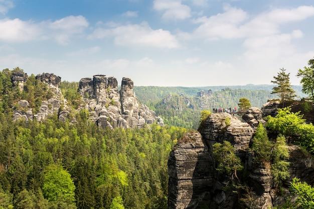 Rocky mountains valley, europa natur
