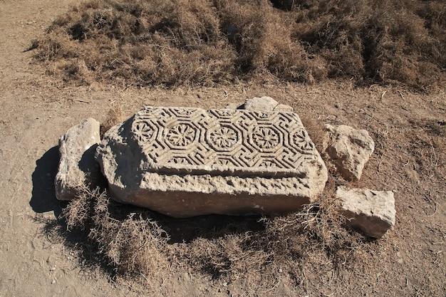 Römische ruinen in el minya ägypten