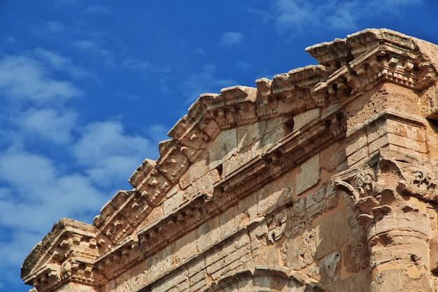 Römische ruinen in tyrus (sauer), libanon