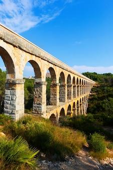 Römischer aquädukt in tarragona