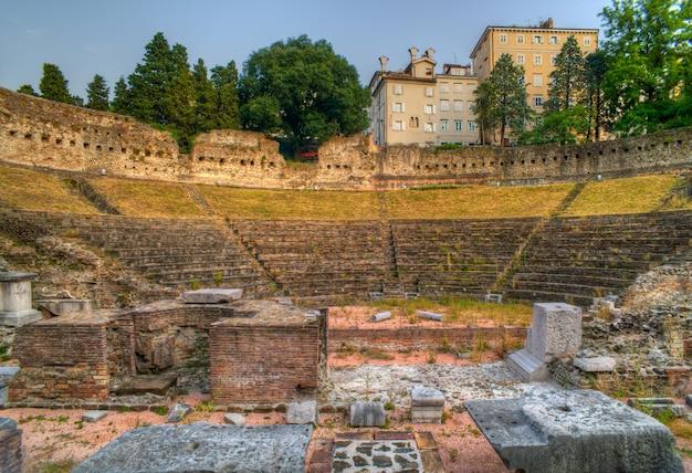 Römisches theater in triest
