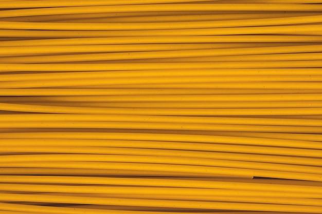 Rohe italienische pasta hautnah