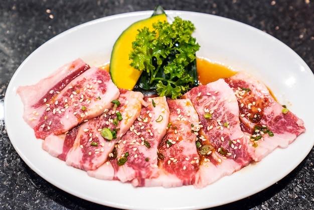 Rohes premium-wagyu-rindfleisch