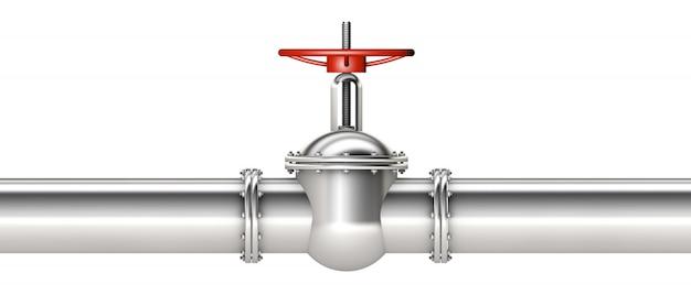 Rohr und ventil