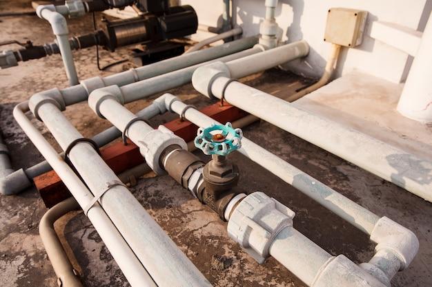 Rohrleitungsset in der industrie