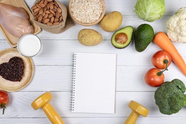 Rohstoffe für gesundes kochen
