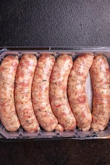 Rohwürste fleischlos sojaweizen gemüsesnack protein seitan vegetarischer oder veganer snack