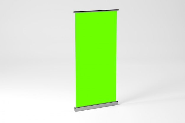 Rollup ad banner