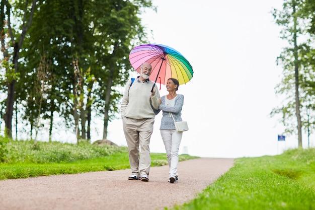 Romantischer spaziergang
