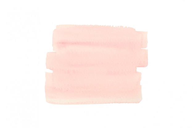 Rosa aquarell für einen abstrakten hintergrund.