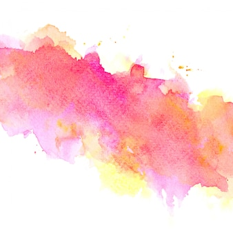 Rosa aquarell mit buntem schattenfarbenanschlaghintergrund