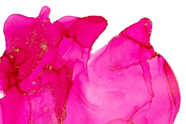Rosa aquarell rosa tropfen und flecken abstrakten hintergrund.