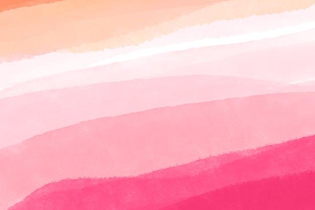 Rosa aquarellhintergrund, abstraktes design der handytapete
