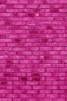Rosa backsteinmauer. innenraum eines modernen lofts. hintergrund für die gestaltung