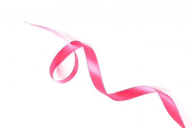Rosa band lokalisiert auf weiß