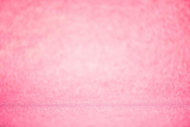 Rosa bokeh beleuchtung verwischte abstrakten hintergrund für jahrestag, hochzeit, valentinstag
