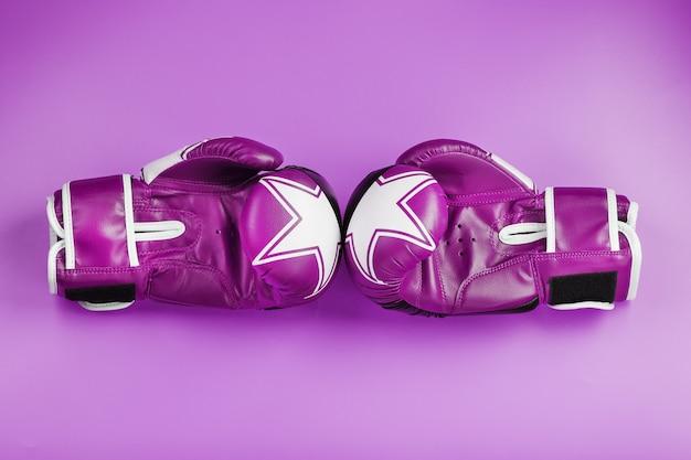 Rosa boxhandschuhe
