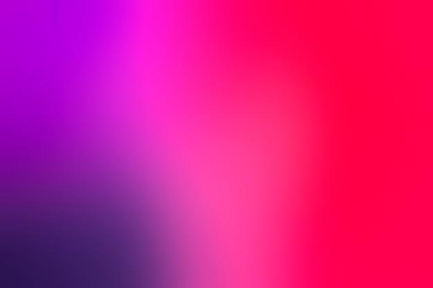 Rosa farben im weichen übergang
