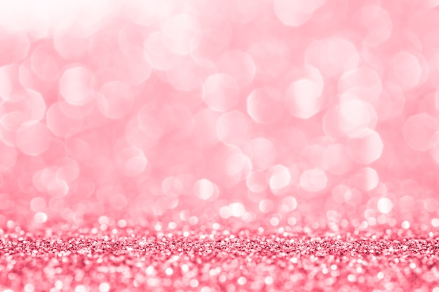 Rosa glitter für abstrakten hintergrund