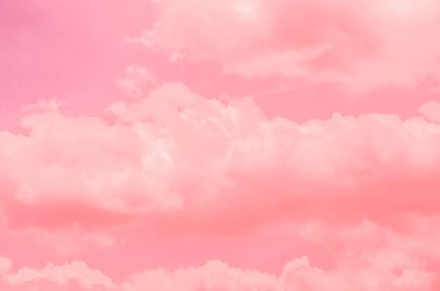 Rosa himmel, gemusterter hintergrund