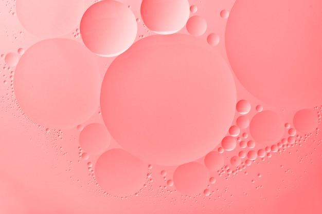 Rosa hintergrundtapete abstrakte ölblase textur