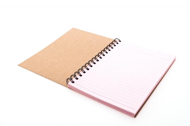 Rosa notebook öffnen