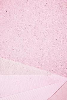Rosa papierbeschaffenheitshintergrund