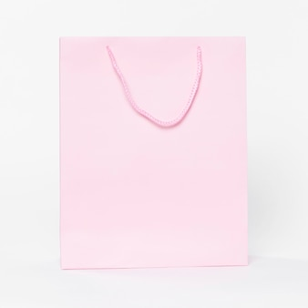 Rosa papiertüte