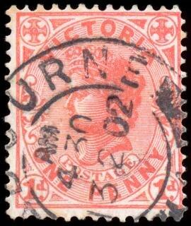 Rosa queen victoria stempel