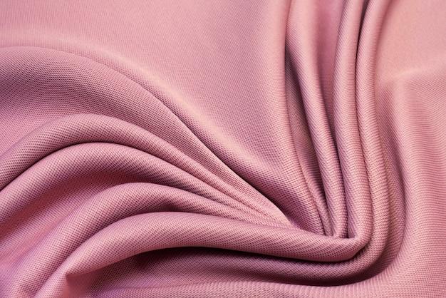Rosa stoffbeschaffenheitshintergrund