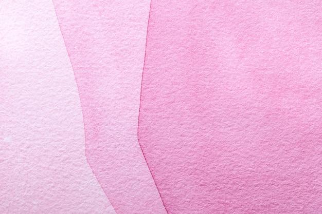Rosa und purpurrote farbe des hintergrundes der abstrakten kunst. mehrfarbenmalerei auf segeltuch.