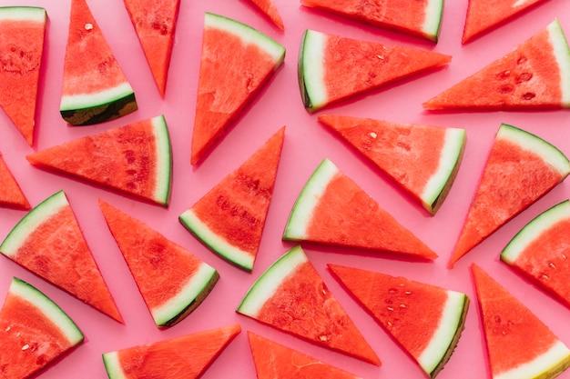Rosa wassermelonenhintergrund