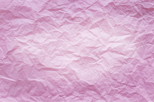 Rosa zerknittertes recyclingpapier