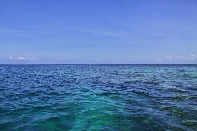 Rosario naturschutzgebiet im karibischen meer nahe cartagena kolumbien