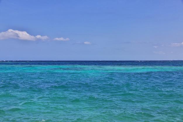 Rosario naturschutzgebiet im karibischen meer nahe cartagena, kolumbien