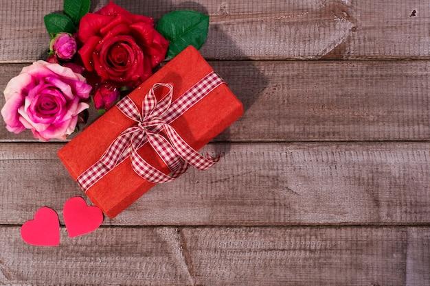 Rose und geschenkboxen