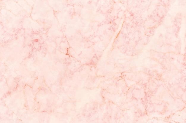 Roségold-marmorbeschaffenheit mit hoher auflösung, gegendraufsicht des naturfliesensteins