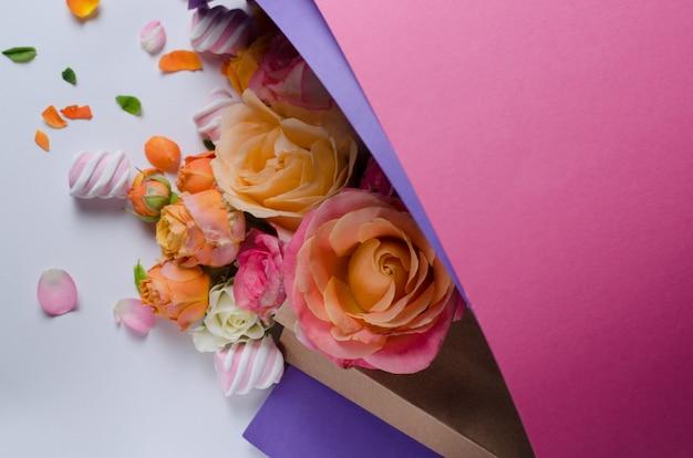 Rosen im kartonbeutel