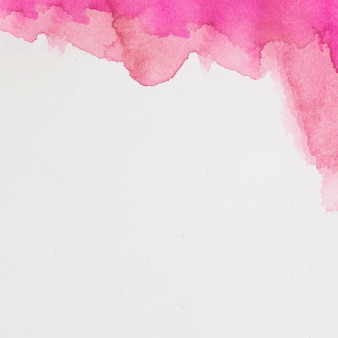 Rosenmischung von farben auf weißem papier