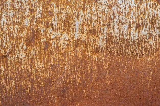 Rost auf altem metallbeschaffenheits-schmutzhintergrund.