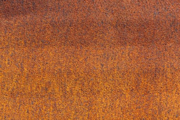Rost auf metallischer oberfläche